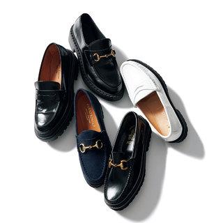 この秋、一足は持っておきたい「ボリュームのあるローファー」【明日から秋本番まで履ける靴】