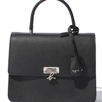 大人スタイルにぴったり! アニエスべーの新作★黒のハンドバッグ【20歳の記念】