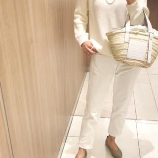 【ユニクロ】私の次世代パンツはホワイトテーパードデニム