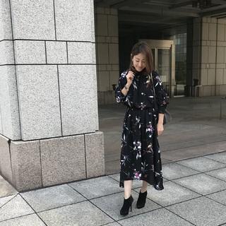 かぶり率No.1 アラフォーが選ぶ「花柄ワンピース」はこれ!!