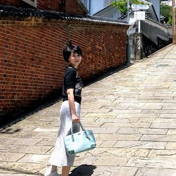 真っ白いスニーカーで長崎の街をお散歩♪