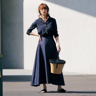 「ふんわりスカート」があれば、今年のワン・ツーコーデは大成功