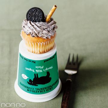 バレンタイン2018♡ オレオと生クリームで簡単! ココアクリームカップケーキ
