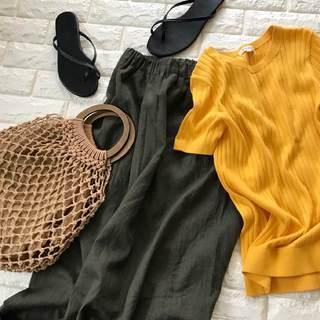 GU1,990円で夏服が格段にセンスUP!今探すのはこの色【高見えプチプラファッション #23】