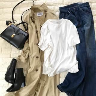 気温差の今、何着ればいい?これから出番の白Tシャツ【高見えプチプラファッション #65】
