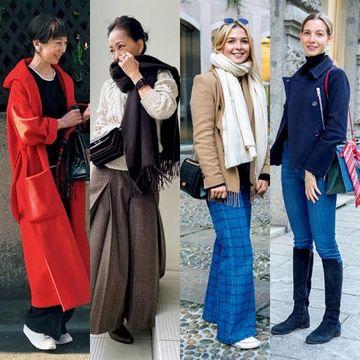 Jマダム&ヨーロッパマダムたちの「愛着服」とは?今どきのおしゃれコーデを拝見!