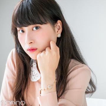 チャンミーのパールピアス&ブレスレット♡ 読モの20歳の記念STORY