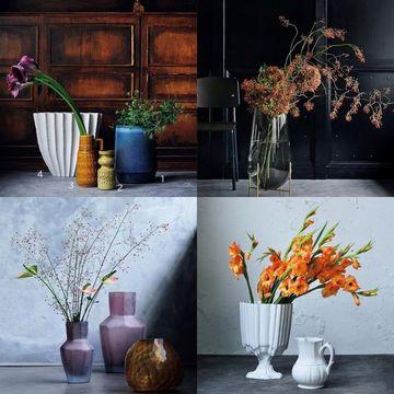 【大人の上質インテリア】花映えする「存在感のある花器」で自宅を心地よく、心にやすらぎを。