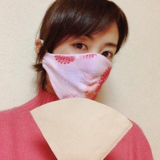 コーヒー好きな私のマスク♡