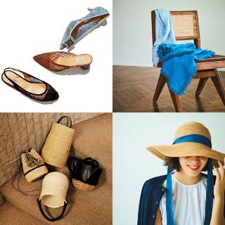 2020夏、コーデにプラスするとグッとお洒落度がアップする夏小物のまとめ|40代ファッション