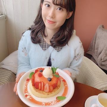 """期間限定♡""""天使のクリーム""""いちごのレアチーズパンケーキ_1_5"""