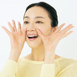 笑顔に使う筋肉を記憶させる顔ヨガで、アラフォーの笑顔よカムバック!
