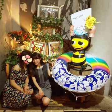蜂蜜をたっぷりかけてどうぞ♡渋谷BEE HOUSE