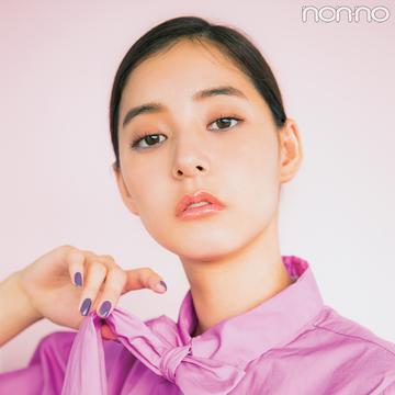 ほんのり色っぽ♡ 夏の涙袋メイクはすみれ色で【新木優子のメイク連載(17)】