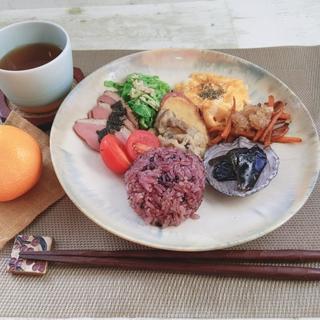 【※動画あり】いつもの雑穀米プレートごはんをご紹介☆