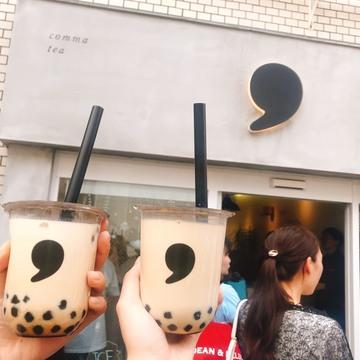 【間も無く終了!】今だけcomma teaがお得に飲めちゃう!?【タピオカ】