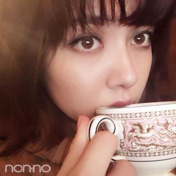 ノンノモデル遠藤新菜の「冬といえばコレ」はホットコーヒーと岩盤浴