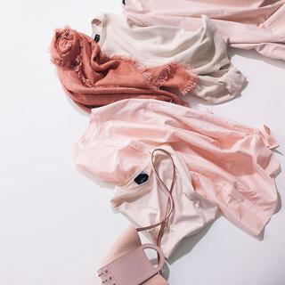 今シーズンのトレンドアイテム「ピンク」をアラフォーが着るには?春の最旬コーデ