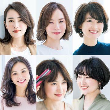 リフトアップが叶う髪型が人気!【50代髪型人気ランキングTOP10】