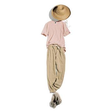 スタイリスト森慶子さんが提案!ナチュラルカラーが素敵なbassikeの夏カジュアル