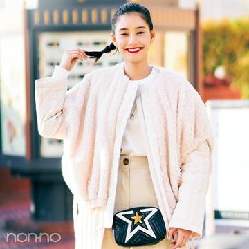 新木優子の冬私服♡ トレンドもコーデ術も、ヒントの宝庫!