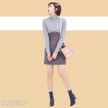 ミニスカートQ&A★ スタイルアップする技&靴下コーデを伝授!