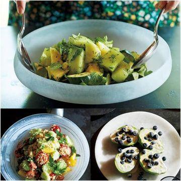 フルーツやハーブで華やか「映えサラダ」気分もテーブルも盛り上がる!