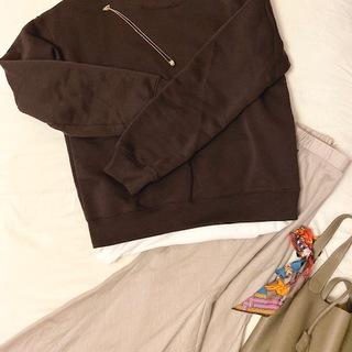 【GU】990円 スエットで、秋コーデ