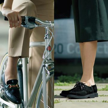 【男顔フラット靴コーデ5選】ゴツめのボリューム感で即、旬度アップが狙える!
