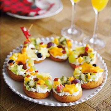 ドーナツ盛ってクリスマススイーツに♡ 簡単SNS映えレシピをご紹介!