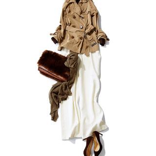 「茶色のバッグ」がコーデの要!スタイリスト徳原文子さん