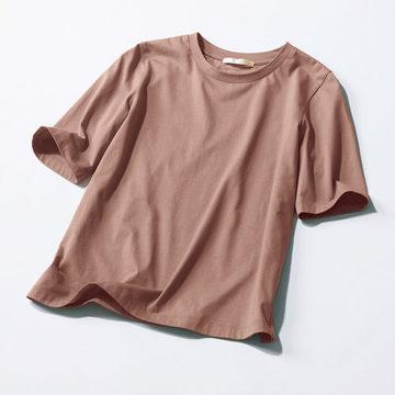 シックな新色で季節を先取り!「E by éclat」の大人五分袖Tシャツ