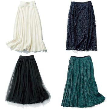 2020年春のスカートコーデ!一枚で着映える「華やぎスカート」  photo gallery