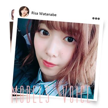 渡邉理佐&江野沢愛美の「夏はこれで生きてます」【MODELS' VOICE④】