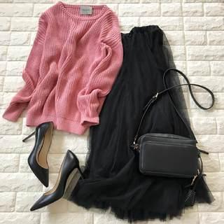 スカートはもっと楽しめる!チュールで簡単上品コーデ【高見えプチプラファッション #64】