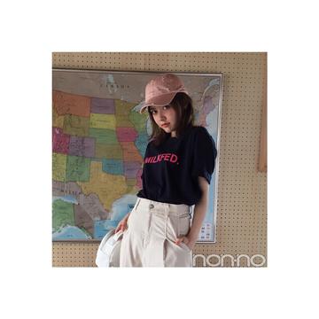 毎日コーデ★遠藤新菜の街でもフェスでも着たくなるTシャツコーデ♪