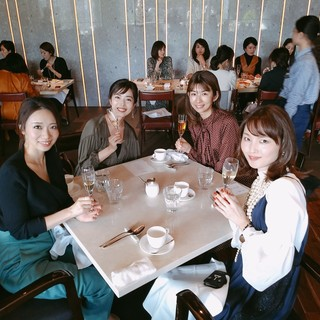 美女組ランチ会にて_1_4-1