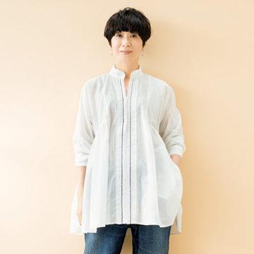 スタイリスト佐伯敦子さんプロデュース「心地よく女らしい大人の日常スタイル」