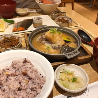 たまにはお外で和食ごはん。