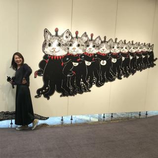 ZARAのプリーツスカートで3/31まで開催のヒグチユウコ展CIRCUSへ
