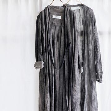 """たくさん着て洗うのがおすすめ""""タブリクのリネンローブ""""【MADE IN JAPANの隠れた名品】"""