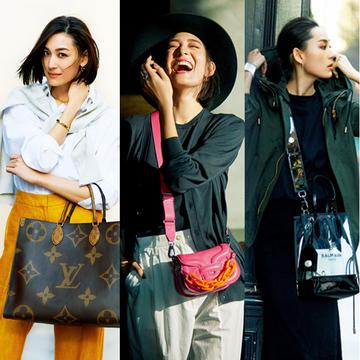 """【50代向け春の""""映え""""バッグまとめ】2020春に持つべきは「大きい・鮮やか・ユニーク」なバッグ"""