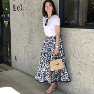 この夏、わたしの定番休日スタイルはマキシ丈スカート!