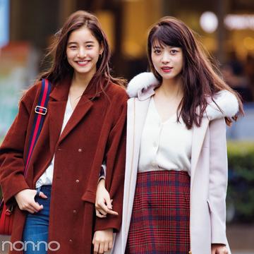 新木優子&馬場ふみか共演♡ クリスマスまでに可愛げ盛り着回し