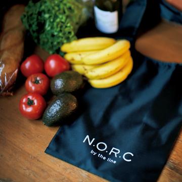 <エクラ4月号付録>大人気ブランド「N.O.R.C」とコラボした黒ショッパーBAG