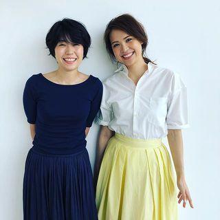美女組ウマキさんとjunjunさん、9月号の夏の体形お悩み特集にご登場いただきます♡