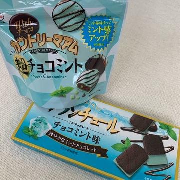《チョコミン党さん必見!》コンビニで買えるチョコミント菓子♡