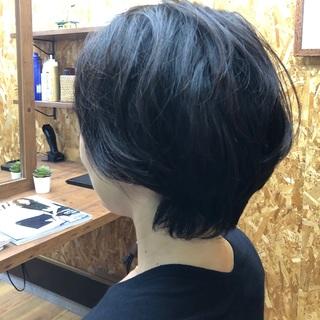 髪切りました in Autumn