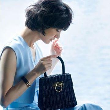 50代人気ブランドの「かごバッグ」