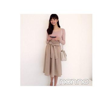 毎日コーデ★新川優愛のオフィスOKなトップスできちんとコーデ